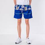 Мужские шорты (плащевка), синего цвета, фото 2