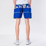 Мужские шорты (плащевка), синего цвета, фото 3
