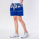 Мужские шорты (плащевка), синего цвета, фото 4