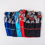 Мужские шорты (плащевка), синего цвета, фото 5