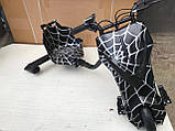 """Дріфт карт Windtech Crazy Bug 8"""" Павутина   електроскутер (LED фари і підсвічування, 350 W, 3 швидкості, IP56), фото 4"""