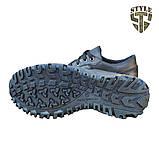 Кросівки тактичні 20-01V шкіряні чорного кольору, фото 6