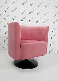 Кресло для зоны ожидания Grand ткань Розовая (Velmi TM)