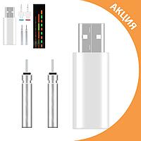 Зарядное устройство + 2 аккумулятора CR425 для умных поплавков. USB-зарядное для CR425.
