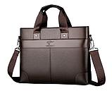 Деловая мужская сумка Lingzhidaishu, фото 8