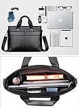 Деловая мужская сумка Lingzhidaishu, фото 3