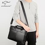 Деловая мужская сумка Lingzhidaishu, фото 2