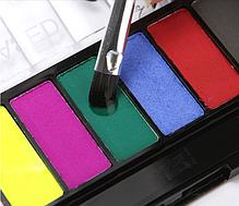 Аквагрим 8 цветов, краски для бодиарта, краски на водной основе, фото 2