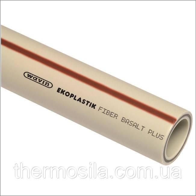 Труба BASALT PN25 D  110 армована Ekoplastik