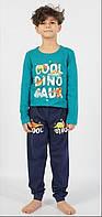 Пижама для мальчика с надписью динозавр 9-16 лет