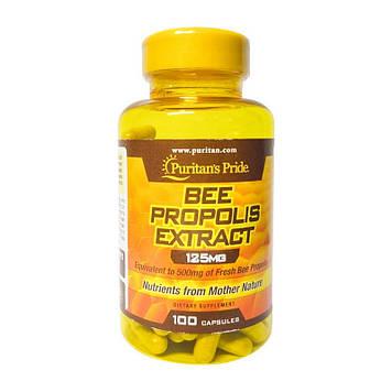 Прополіс екстракт Пуританс Прайд / Puritan's Pride Beef Propolis Extract 125 mg (100 caps)
