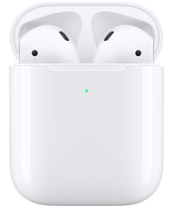 Бездротові навушники Apple AirPods 2 with Wireless Charging Case (MRXJ2) - З Бездротовою зарядкою