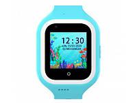 Розумні дитячі GPS годинник Wonlex Smart Baby Watch KT21 (4G) Блакитні, фото 1