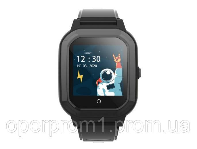 Умные детские GPS часы Wonlex Smart Baby Watch KT20 (4G) Черные