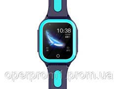 Умные детские GPS часы Wonlex Smart Baby Watch KT24S (4G) Голубые