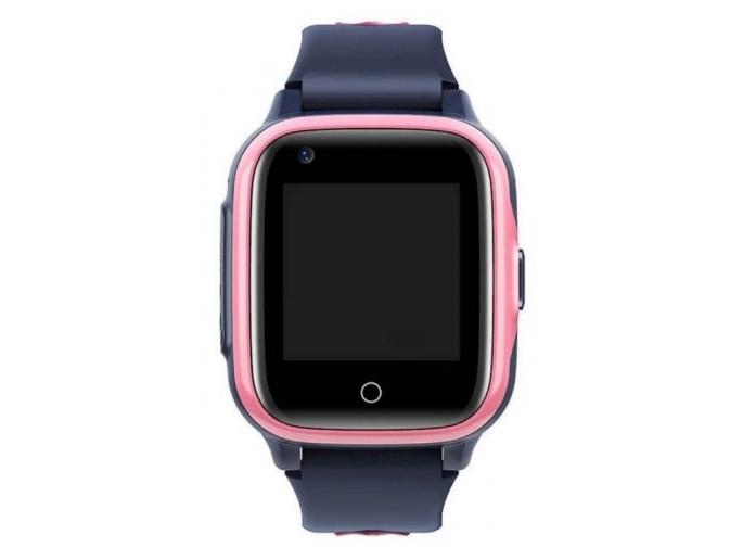 Умные детские GPS часы Wonlex Smart Baby Watch KT15 (4G) Серо-розовые