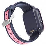 Умные детские GPS часы Wonlex Smart Baby Watch KT15 (4G) Серо-розовые, фото 3