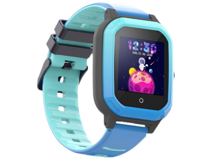 Умные детские GPS часы Wonlex Smart Baby Watch KT20 (4G) Голубые