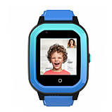 Умные детские GPS часы Wonlex Smart Baby Watch KT20 (4G) Голубые, фото 2
