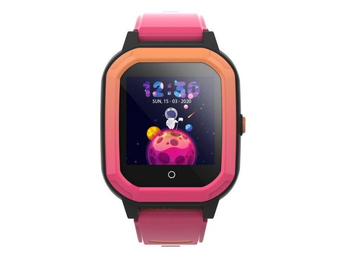 Розумні дитячі GPS годинник Wonlex Smart Baby Watch KT20 (4G) Рожево-помаранчеві