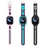 Умные детские GPS часы Wonlex Smart Baby Watch KT24S (4G) Голубые, фото 3
