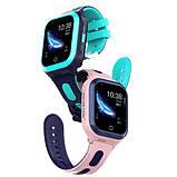 Умные детские GPS часы Wonlex Smart Baby Watch KT24S (4G) Голубые, фото 4