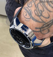 Умные часы Smart Watch Max Robotics Hybrid Sporttech ZX-01 SILVER Гибрид Smart Watch механика и электроника