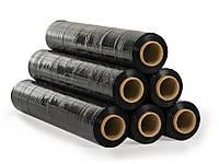 Стрейч пленка 20 мкм - 500 мм × черный / 470 м, фото 1