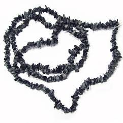 Бусины Сколы Обсидиан, Натуральный Камень, Крошка Мелкая, Размер от 4 до 9 мм, Рукоделие, Фурнитура Бижутерия
