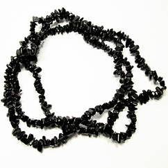 Відколи Камінь Агат Дрібний Чорний, Розмір від 4 до 9 мм, Намистини Натуральний Камінь, Руко