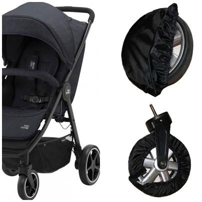 Чохли-комплект на колеса прогулянкової коляски. Діаметром 15-20см і 20-25см. (Ok Style)