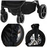 Чехлы-комплект на колеса прогулочной коляски. Диаметром 15-20см и 20-25см.  (Ok Style), фото 3