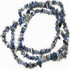 Відколи Содалит Дрібні, Розмір від 4 до 9 мм, Бусіни Натуральний Камінь, Рукоділля