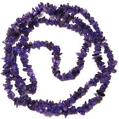 Відколи Аметист Дрібні, Розмір від 5 до 9 мм, Бусіни Натуральний Камінь, Фурнітура на Біжутері