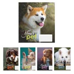 Тетрадь в клетку 12 листов 1В Dog loyality