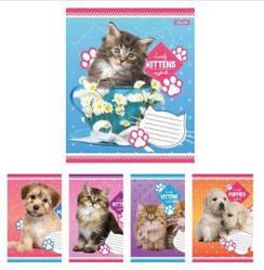 Тетрадь в косую линию 12 листов без д/л 1В Lovely puppies
