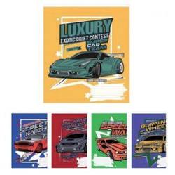 Тетрадь в линию 12 листов 1В Car concept