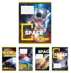 Тетрадь в косую линию 12 листов YES Space