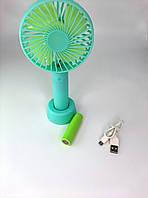 Портативный USB вентилятор Носимый и настольный