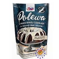 Глазур для десертів Emix зі смаком білого шоколаду 100 г
