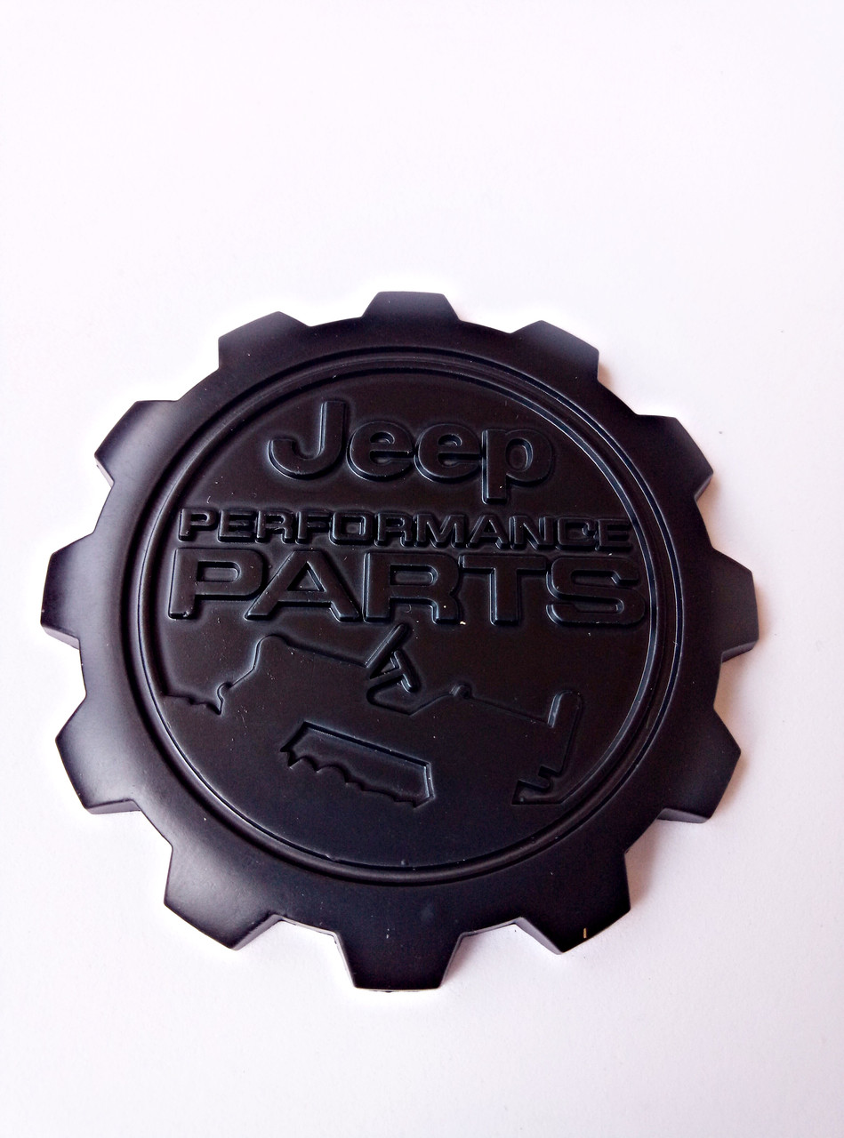 Эмблема Jeep Performance Parts черная