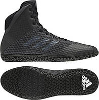 Борцовки, боксерки Adidas Mat Wizard 4. Обувь для борьбы, бокса. Размер 40,5, фото 1