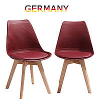 Стулья для столовой. Стулья для кухни на ножках из массива дерева Стул для гостиной tr-61/62 A1 Красное