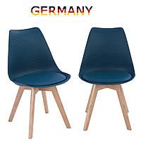 Стулья для столовой. Стулья для кухни на ножках из массива дерева Стул для гостиной tr-61/62 A1 Синий
