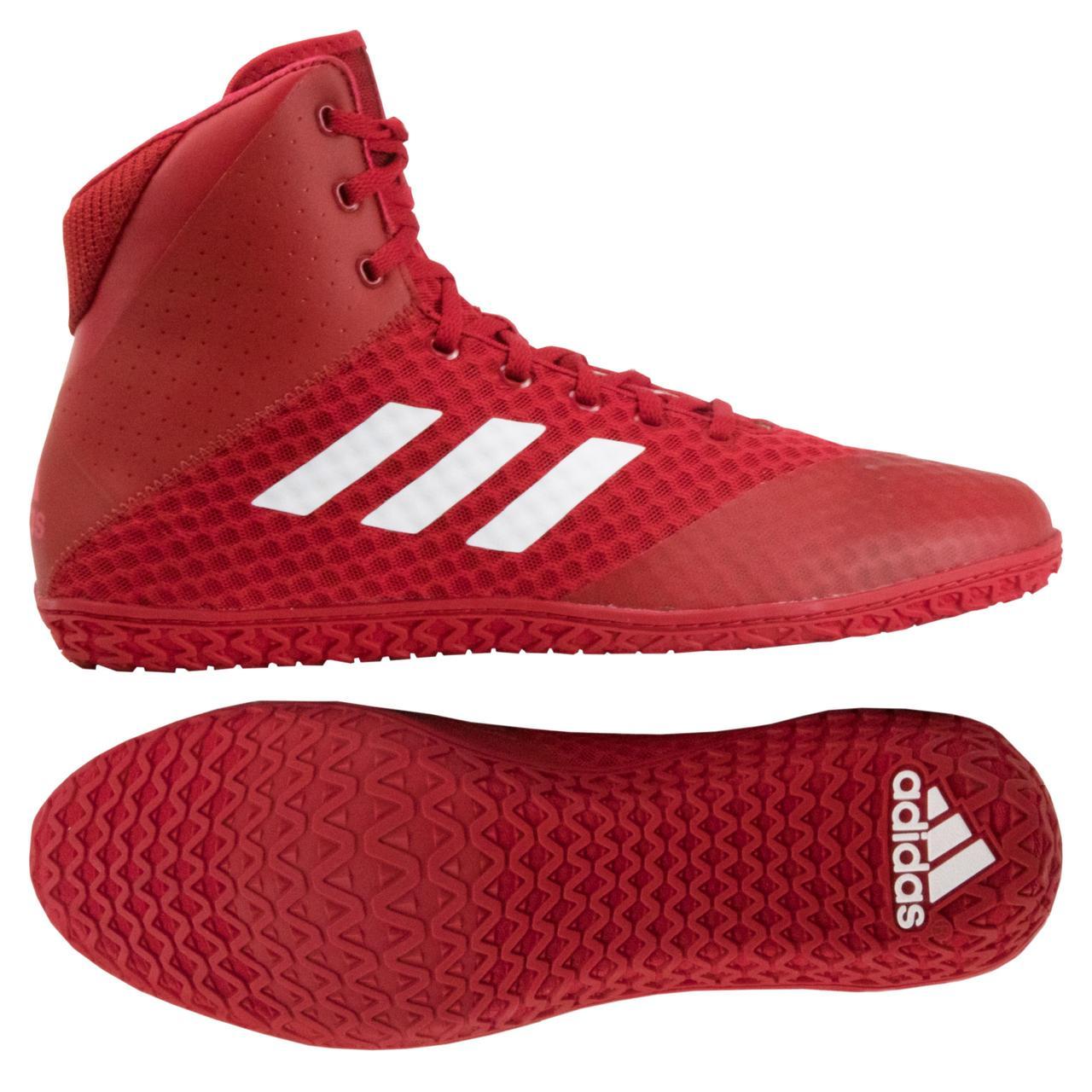 Борцовки, взуття для боксу Adidas Mat Wizard 4. Взуття для боротьби, боксу. Розмір 39,5