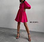 Женское платье, штапель, р-р универсальный (малина), фото 3