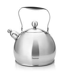 """Чайник для кипячения воды """"Adele"""" 24.5х21.5х28см/3500мл из нержавеющей стали Fissman"""