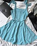 Женское платье, американский креп, р-р 42-44; 44-46 (голубой), фото 2