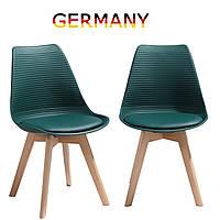 Стулья для столовой. Стулья для кухни на ножках из массива дерева Стул для гостиной tr-61/62 Зеленое C1