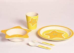 Набор детской бамбуковой посуды Con Brio CB-253 5 предметов